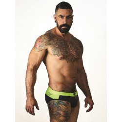 Mister B URBAN Malta Swim Briefs Yellow (T7024)