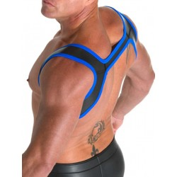 665 Neoprene Slingshot Harness Black/Blue