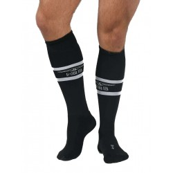 MisterB Urban Football Socks with Pocket Black (T6961)