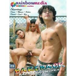 Bareback Mexican Twinks DVD (Rainbow) (04415D)