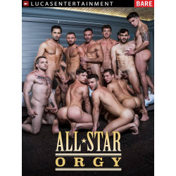 All-Star Orgy DVD (LucasEntertainment) (18018D)