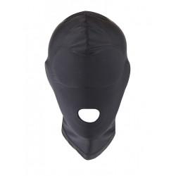 RudeRider Elastane Hood Open Mouth Black (T7281)