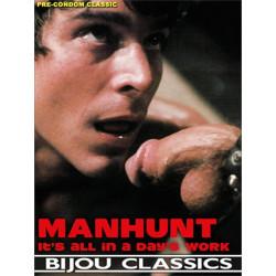 Manhunt - It`s All In A Day`s Work DVD (Bijou) (18275D)