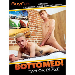 Bottomed! With Taylor Blaze DVD (BoyFun) (18588D)