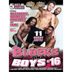 Blacks On Boys #16 DVD (Dog Fart Gay) (18672D)