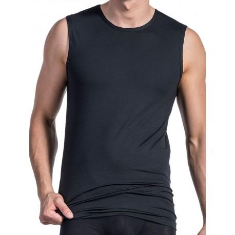 Olaf Benz College Shirt RED1203 Sleeveles T-Shirt Black (T3545)