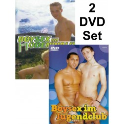 Boysex im Jugendclub & im (H)Odenwald 2-DVD-Set (Foerster Media) (18885D)