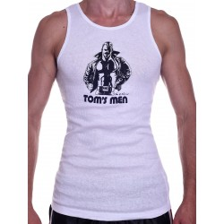 Tom of Finland Kake Tank Top (Euro Size) White (T3668)