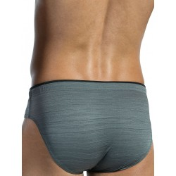 Olaf Benz Beachbrief BLU1551 Swimwear Asphalt (T3995)
