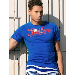 2Eros Anchor / Sailor T-Shirt Navy (T3998)