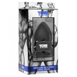 Tom of Finland Anal Plug Silicone M (T4269)