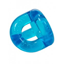 Sport Fucker Half Guard Cockring/Ball Stretcher Ice Blue (T4528)