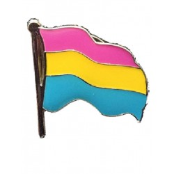 Pin Waving Pansexual Flag (T4753)