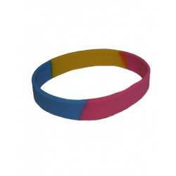Pansexual Bracelet Silicone (T4745)