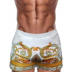 Danny Miami Vintage Savage Beach Shorts Multi (T4878)