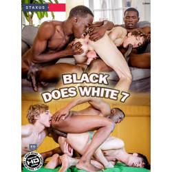 Black Does White #7 DVD (13217D)