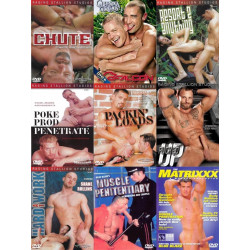 US Classic (Raging Stallion, Falcon & Co) 9-DVD-Set (14236D)