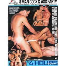 8 Man Cock & Ass Party 4h DVD