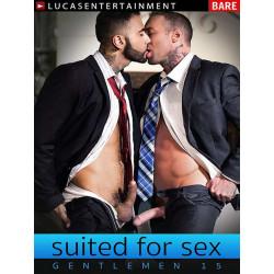 Gentlemen #15: Suited For Sex DVD (13139D)