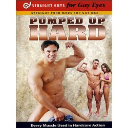 Pumped Up Hard DVD (Straight Guys for Gay Eyes) (06948D)