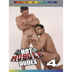 Hot Muscle Dudes #4 DVD (Alkaline Productions) (13655D)