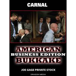 American Bukkake - Business Edition DVD (Joe Gage) (12469D)