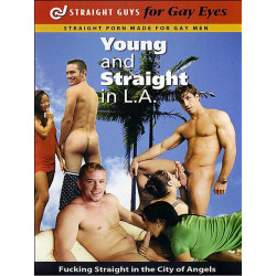 Young and Straight in L.A. DVD (Straight Guys for Gay Eyes) (12095D)