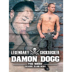 Legendary Cocksucker: Damon Dogg DVD (Treasure Island) (12797D)