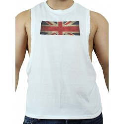GB2 C Muscle UK T-Shirt White