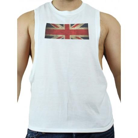 GB2 C Muscle UK T-Shirt White (T3008)