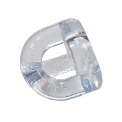 Sport Fucker Half Guard Cockring/Ball Stretcher Clear (T4527)