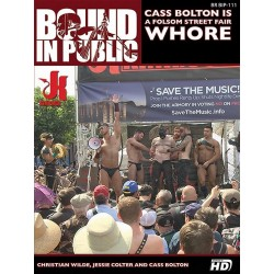 Cass Bolton Is A Folsom Street Fair Whore DVD (14892D)