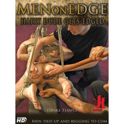 Hairy Dude Gets Edged DVD (Men On Edge) (14899D)