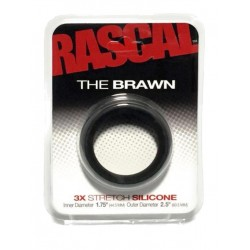 The Brawn Cockring Black (Rascal Toys) (T4957)
