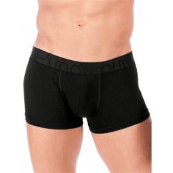 Rounderbum Padded Boxer Trunk Underwear Black (T4803)