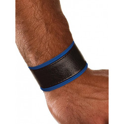 Colt Leather Wrist Strap - Blue (T0104)