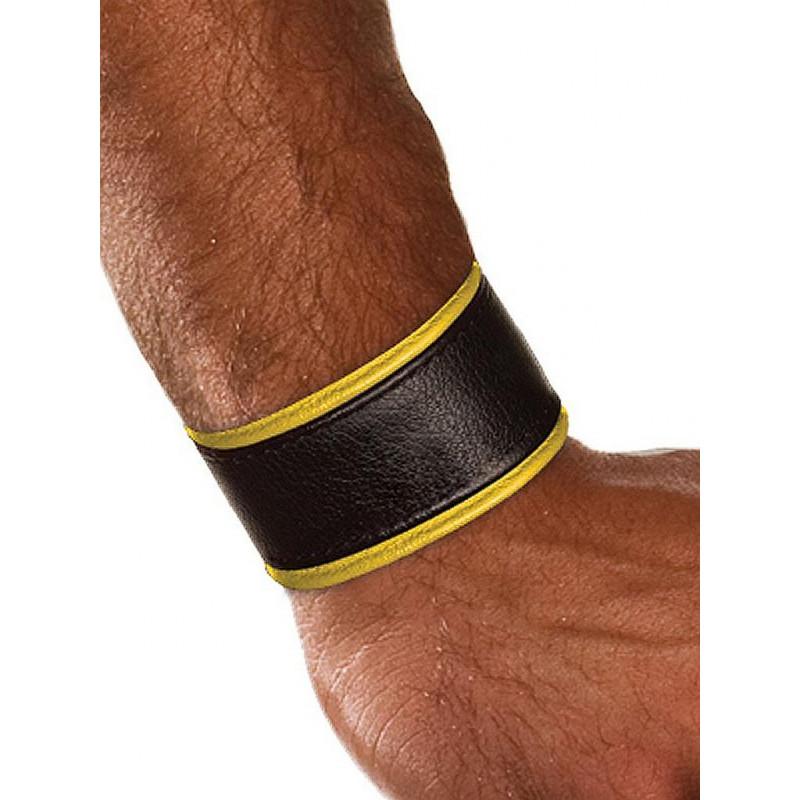 Colt Leather Wrist Strap - Yellow (T0106)