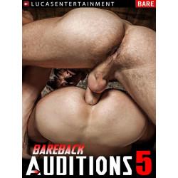 Bareback Auditions #5 (Lucas) DVD (LucasEntertainment) (14493D)