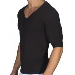 Rounderbum Padded Muscle T-Shirt Black (T4852)