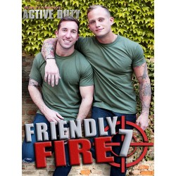 Friendly Fire #7 DVD (Active Duty) (15043D)