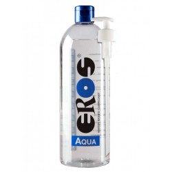 Eros Aqua 1000 ml / 33 oz. Water-based Lubricant (Bottle) Incl. Pump (E33900)