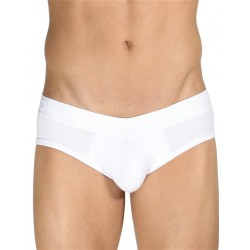 Rounderbum Jock Brief Underwear White (T5061)