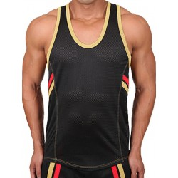 Pistol Pete Fighter Tank Top Black (T4017)