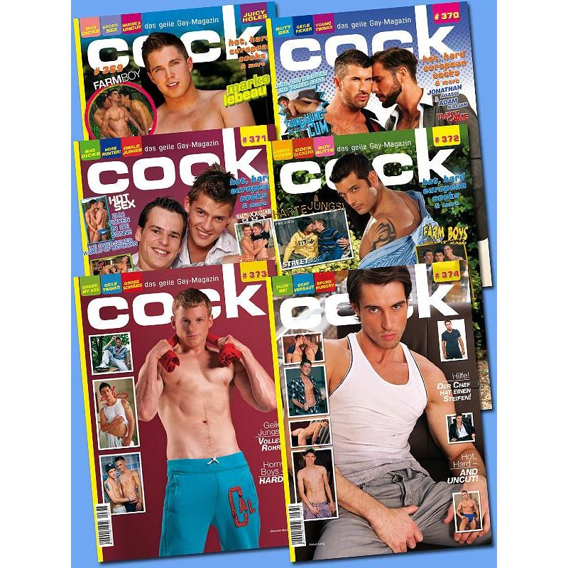 Cock Magazine Abonnement 6 Ausgaben (M1400)