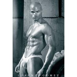 Male Form Black Male Poster (M8501)