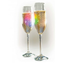 Union: Champagne Glasses Classic Greeting Card (M8029)