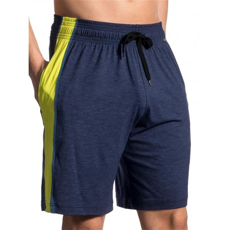 Olaf Benz Workout Boxer Shorts RED1710 Night-Lime (T5114)