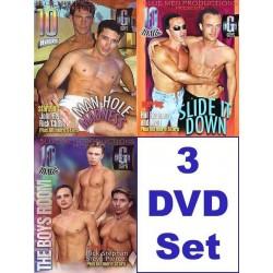Blue Men 30 h Pack #2 3-DVD-Set (10250D)
