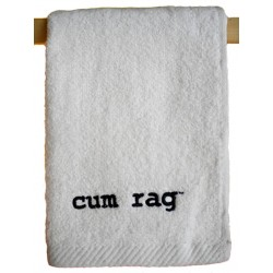 Cum Rag Towel Small White 28 x 43 cm / 11 x 17 inch (T5241)