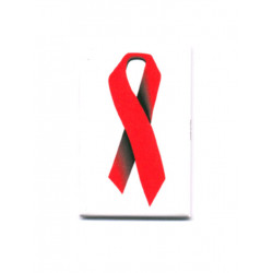 Red Ribbon Magnet (T5124)